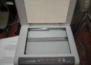 Замена стекла сканера в принтере