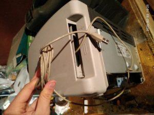 Ремонт разъема принтера HP